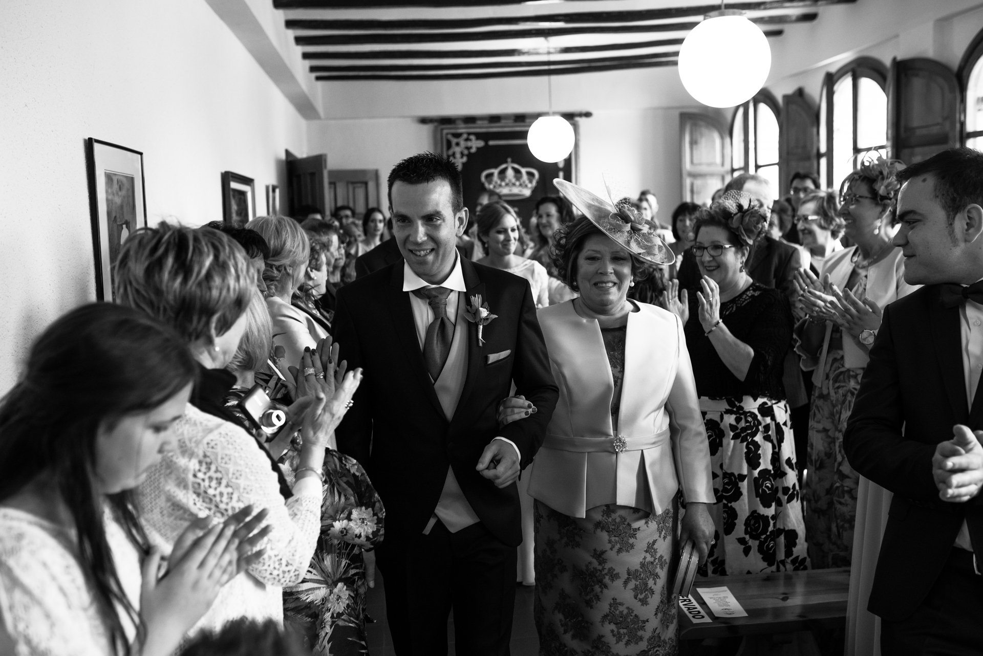 Boda civil en Tabuenca