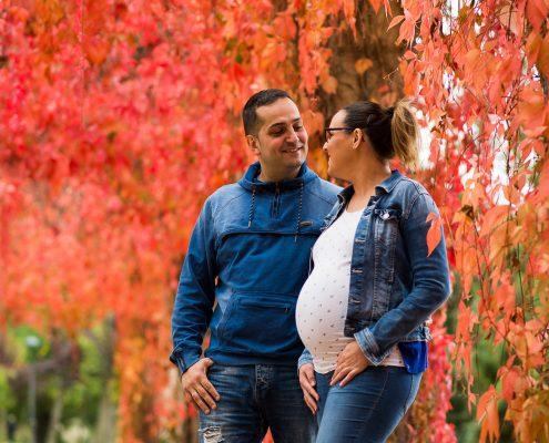 sesión de embarazo en Palencia